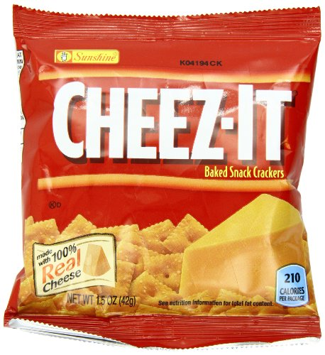 Galletas Cheez-It, Original, 1,5 onzas paquetes (paquete de 36)