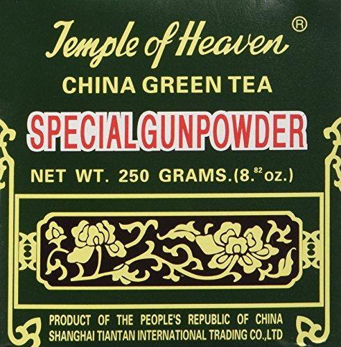 Templo del cielo - té verde de China - pólvora especial suelta té - 8,82 onzas