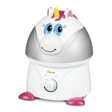 Adorable grúa por ultrasonidos humidificador de vapor frío - Unicorn