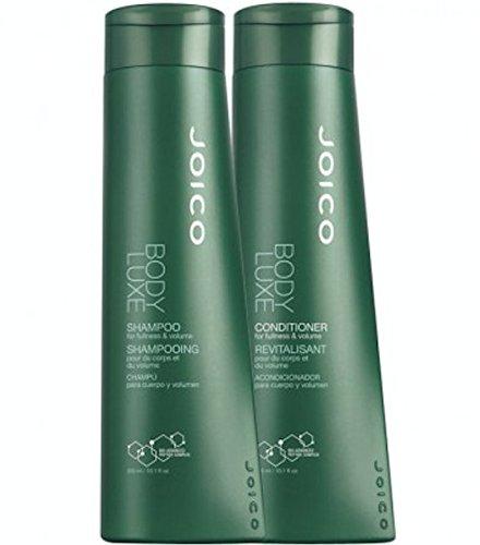 Cuerpo de JOICO engrosamiento Luxe 10,1 onzas Shampoo + acondicionador de 10,1 onzas (Combo oferta)