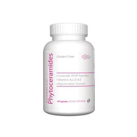 Phytoceramides-Belleza nutrientes, ceramida 30 Cápsulas, productos de belleza para la piel, cabello y uñas, vitaminas A, C, D y E