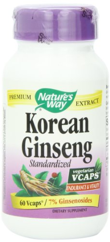 Forma Ginseng de la naturaleza, Korean, 60 cápsulas