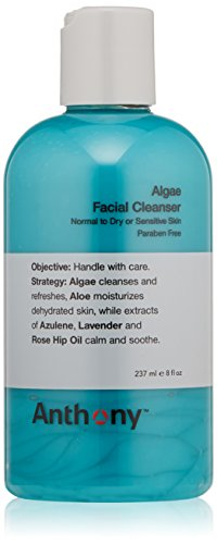 Anthony Limpiador Facial de algas, 8 fl. oz.