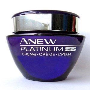 Avon nuevo platino noche crema 1.7oz tamaño completo