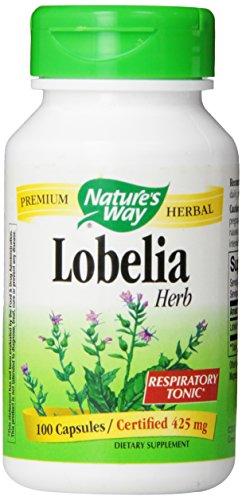 Lobelia Herb 425 mg 100 Caps