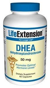 Vida vida extensión DHEA - 50 mg - 60 cápsulas