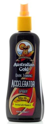 Acelerador del bronceado oscuro oro australiano Spray 8.5 oz.
