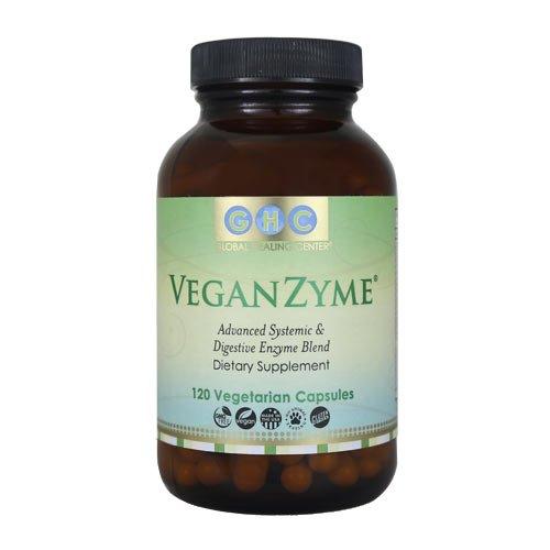 VeganZyme, mezcla de enzimas digestivas y sistémicas de vegano, 120-Conde