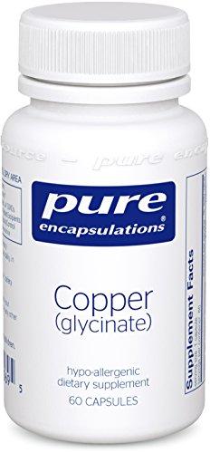 Puros encapsulados - cobre (glicinato) - 60ct [salud y belleza]