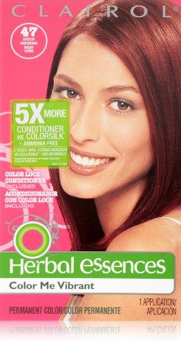 Herbal Essences Color Me vibrante permanente 047 Disco Inferno 1 Kit cabello