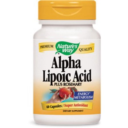El ácido alfa lipoico 50 mg 60 Caps Nature's Way