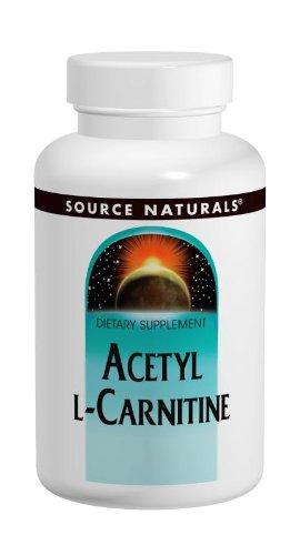 Source Naturals acetil L-carnitina 250mg, 120 tabletas