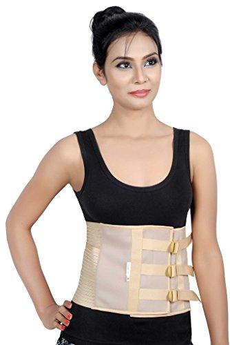 Maravilla de atención-médicos apoyo Abdominal correa - Post operativa Binder y posparto vientre abrigo-semi elastic(Supreme)-medio