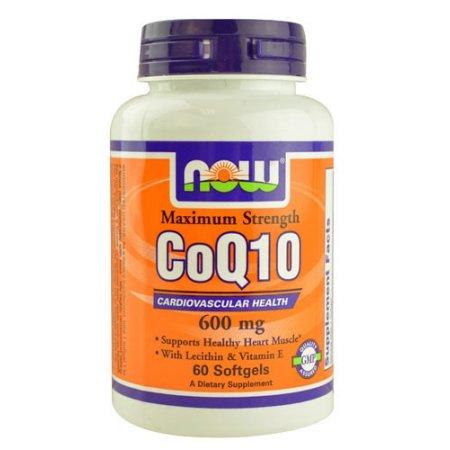 CoQ10 600 mg - 60 cápsulas blandas por NOW Alimentos