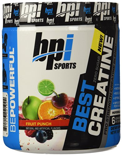 BPI Sports mejor creatina en polvo, Fruit Punch, 10,58 onzas