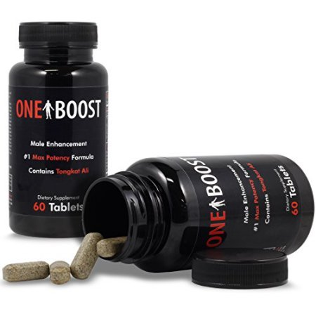 (2) botellas de un Boost nº 1 masculina testosterona Booster - Testosterona para los hombres - píldoras masculinas del realce