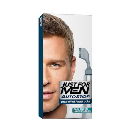 Just For Men interrupción automática del color de pelo Kit Rubio oscuro - más ligero de Brown - 1 Ea