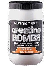 (Pack 2) bombas de creatina - Nutrisport - naranja | 300 | PACK 2 PAQUETE