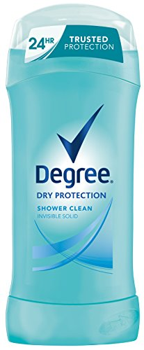 Grado protección seco antitranspirante y desodorante, ducha limpiar 2,6 onzas (paquete de 6)