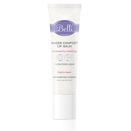 Cuidado de la piel Belli - bálsamo labial de pura comodidad - 0,3 oz.
