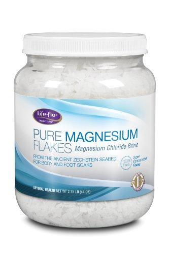 Bienestar colectivo magnesio puro copos, 44 onzas