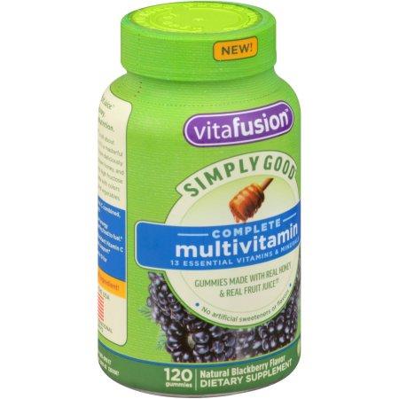 Vitafusion Simply Good completa de multivitaminas 120 ct