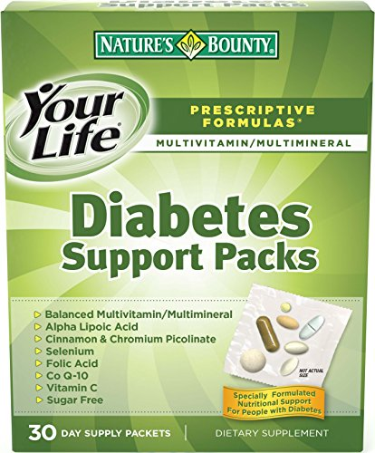 Recompensa Diabetes Support Pack de la naturaleza, 30-cuenta