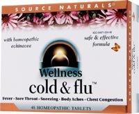 Source Naturals - bienestar frío y gripe, 48 tabletas