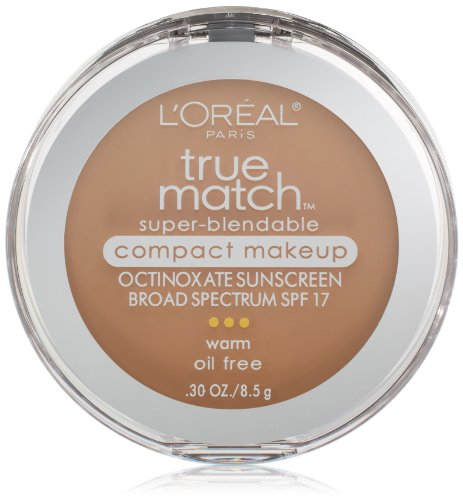 L ' Oreal París True Match Super-Blendable compacto maquillaje, Beige Natural, 0,30 onzas