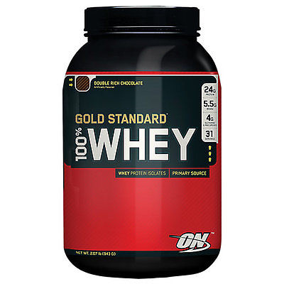 Optimum Nutrition Gold Standard 100% Whey - 2 lb Whey Protein Powder Chocolate