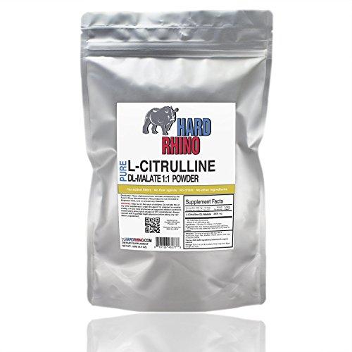 Puro L-citrulina malato a granel de 1:1 en polvo. (250G)