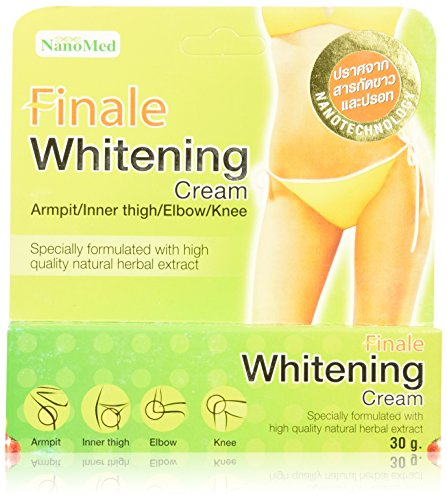 Final que blanquea la crema - axila/interno muslo, codo/rodilla: 30g