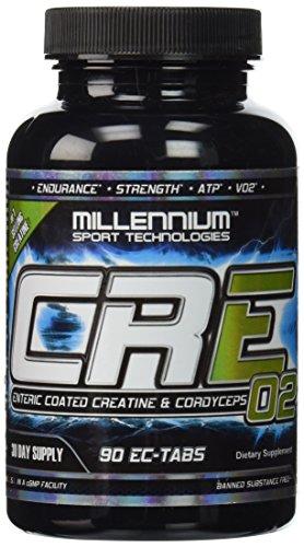 Del Milenio CRE-02 creatina--90 tabletas