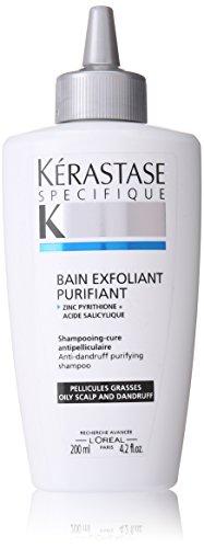 Champú Kerastase Specifique Bain exfoliante Purifiant Unisex (cuero cabelludo graso), 4,2 onzas