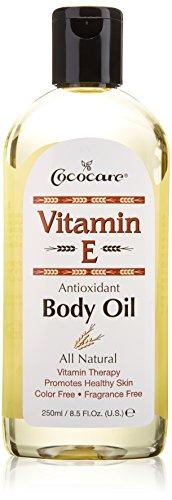 Aceite corporal de Cococare vitamina E antioxidante, 8,5 onzas