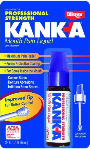 Blistex Kanka boca dolor líquido, profesional fuerza,.33 onzas (9,75 ml)