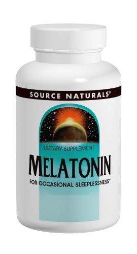 Source Naturals melatonina 5 mg, menta, 200 tabletas