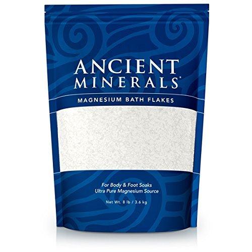 Copos de baño antiguo minerales magnesio (8 libras)