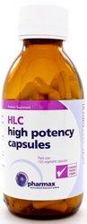 Alta potencia HLC cápsulas 120 Caps (F) por ejemplo - Pharmax