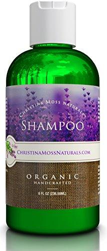 Champú orgánico y 100% Natural para el cabello de todos los tipos (seco, graso, rizado o fino). Para hombres y mujeres. Sulfato libres, ninguÌ n dañosos productos químicos. Por Christina Moss Naturals.