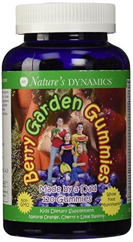 Naturaleza dinámica Berry jardín niños, Multi gomoso/surtidos, ct 120