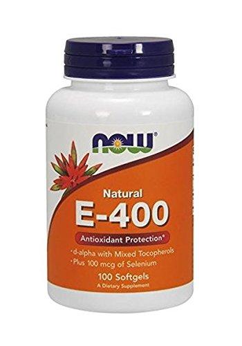 Ahora alimentos E-400, Soft Gel, 100-cuenta (embalaje puede variar)