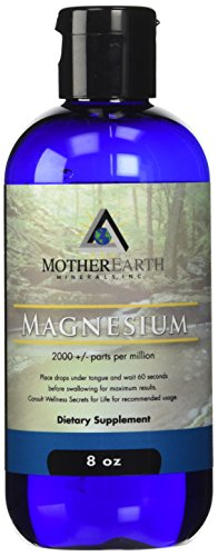 Madre tierra minerales Angstrom minerales, magnesio-8 ozs.