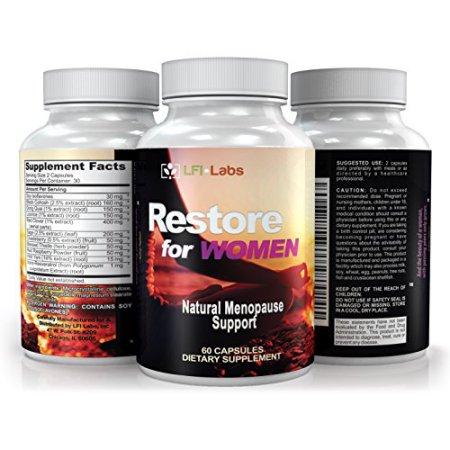 LFI de restauración para las mujeres - Su Médico Recomendado 100% toda la solución de la menopausia natural. Promueve benefic