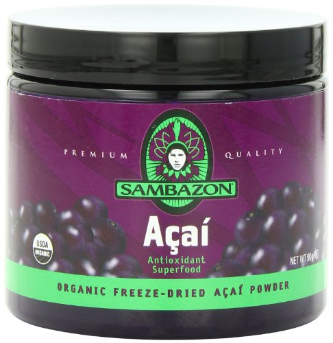 Sambazon orgánico liofilizado Acai polvo onza 3,17