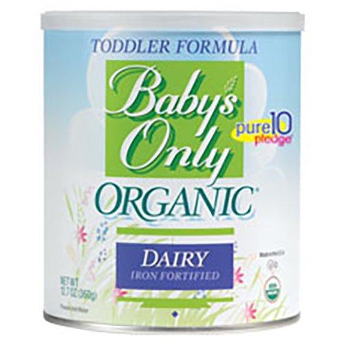 Fórmula láctea sólo orgánica del bebé, 12,7 oz.