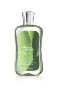 Baño y cuerpo funciona Rainkissed hojas de Gel de ducha 10 oz