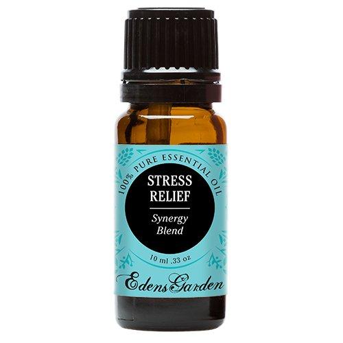 Edens Garden estrés socorro sinergia mezcla aceite esencial de bergamota, pachuli, naranja de sangre, Ylang Ylang y pomelo, 10ml