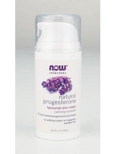 AHORA alimentos soluciones progesterona Natural Crema calmante lavanda--3 oz
