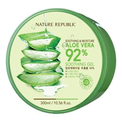 República de naturales Aloe Vera Gel, 300ml, 10.56 onzas de líquido